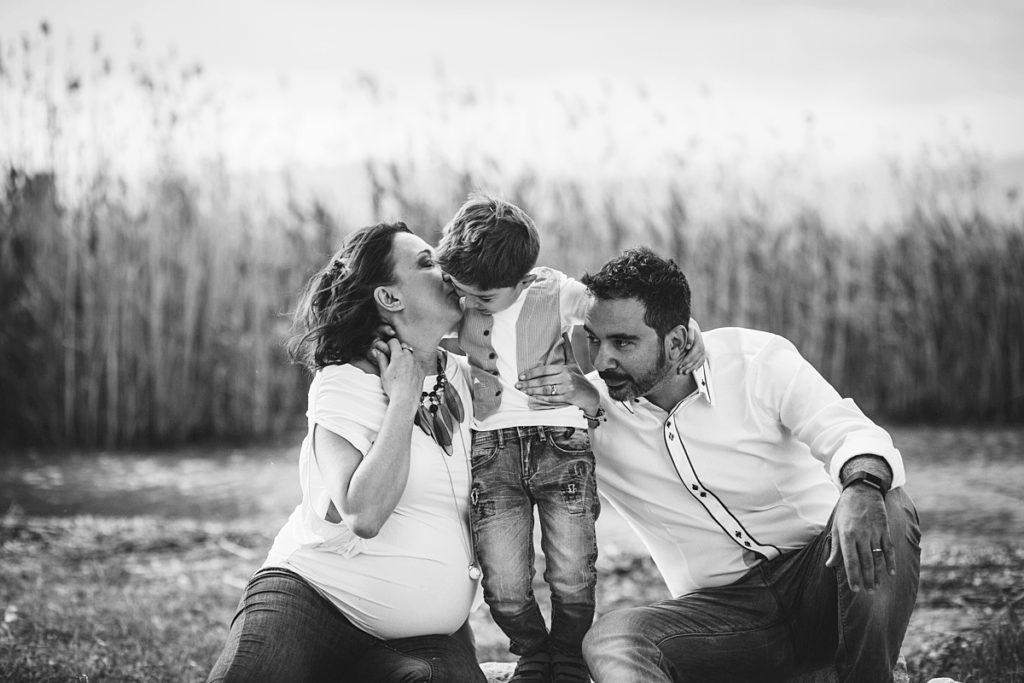 ritratto spontaneo famiglia