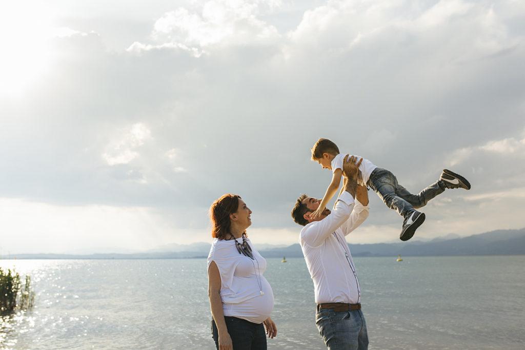 lifestyle ritratto famiglia