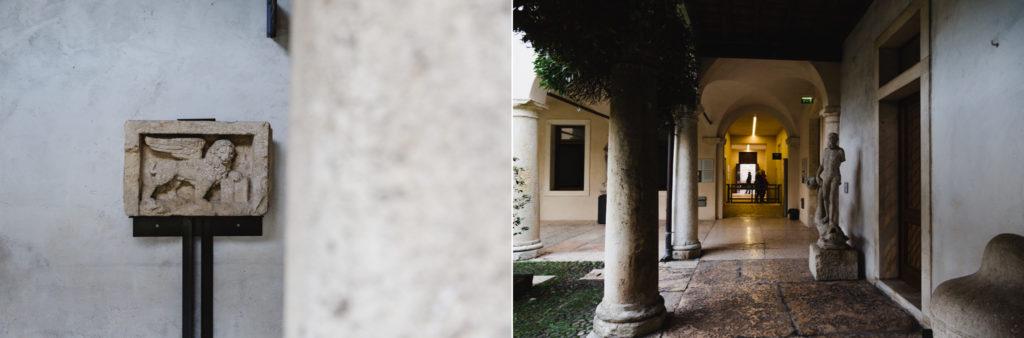 dettagli musei affreschi Verona